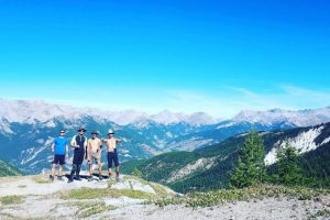 Trek entre amis GR5 alpes